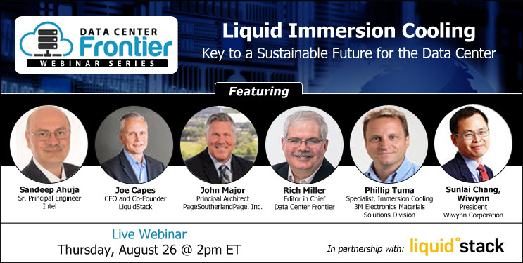 WEBINAR: Liquid Immersion Cooling: Key to a Sustainable Future for the Data Center