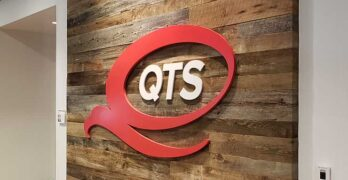 Inside the Ashburn data for QTS Realty Trust, which is being acquired by Blackstone infrastructure for $10 billion (Photo: Rich Miller)