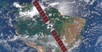 Satellite operator SES will use its O3b mPOWER network of satellites (pictured here) to provide broadband connectivity to the Azure cloud and Carnival Cruise ships. (Image: SES)