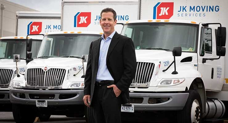Chuck Kuhn, the founder and CEO of JK Moving, has become an active player in the data center real estate market in Northern Virginia. (Photo: JK Moving)