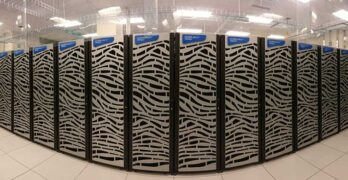 The HERA supercomputer in West Virginia supports weather modeling for NOAA and the National Weather Service to improve the prediction of high-impact weather events. (Image: NOAA)