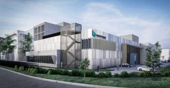 An illustration of the Vantage Data Centers facility in Melbourne, Australia, which is among the assets acquired with Vantage's purchase of Agile Data Centers. (Image: Vantage Data Centers)
