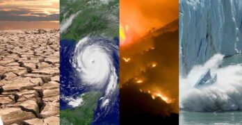 Changing weather patterns include more heatwaves and drought, stronger hurricanes, and record numbers of wildfires. (Image: NOAA)